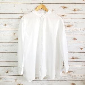 J. Jill | White button up shirt